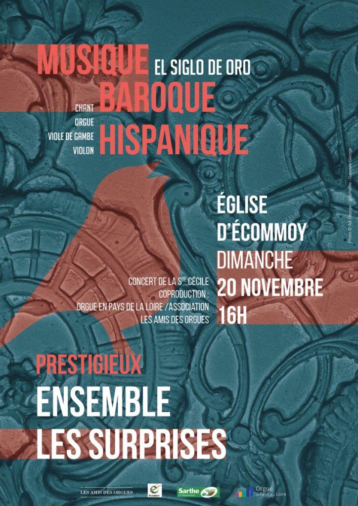 Ensemble Les Surprises à Ecommoy - 20 novembre 2016